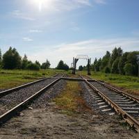 ЖД ветка аэродрома Третьяково