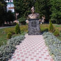 Бюст Богдану Хмельницькому.