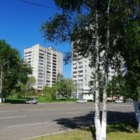 Одна из улиц Комсомольска