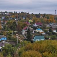 Вид из парка на сл. Заливенская. 2018.