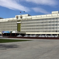 дом правительства Южно-Сахалинска