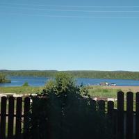 За огородом река Кама