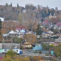 Слобода Заливенская Вид из парка. 2018.