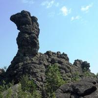 """Гора Качканар. Скала """"Верблюд"""""""