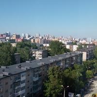 Панорама Перми с высоты.