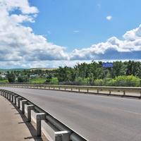 Мост через реку Быстрая Сосна. 2019.