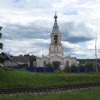 Троицкий храм села Кекоран