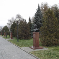 Аллея Героев города Камышина