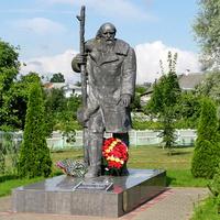 Дятлово. Памятник Филидовичу