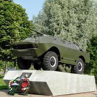 Дятлово. Памятник воинам-афганцам.