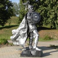 Новогрудок.Памятник на горе Виндовга.