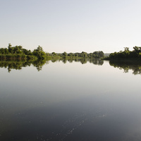 Июньское утро. Река Северский Донец 2019г.