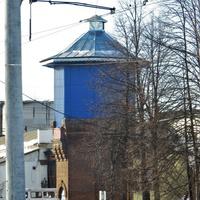 Водонапорная башня на станции Кушва