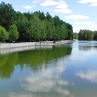 Радон. Набережная первого водохранилища.
