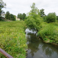 Речка Дудергофка.