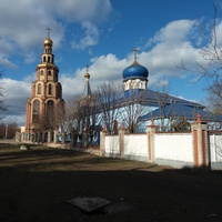 Храм Иверской иконы Божьей Матери и колокольня