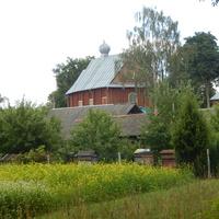 Вид на церковь со стороны усадьбы Лопатинских