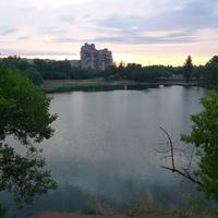 Озеро на Червоному камені.