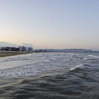 Вид на Анапу ранним утром из Джемете.