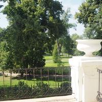 Вид из усадебного дома Веневитиновых