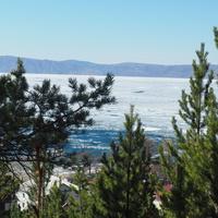 Вид на Байкал 1 мая