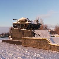 Памятник танк ИС-3