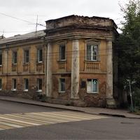 Улица Сакко и Ванцетти, 59. Дом участника Бородинской битвы года капитана Мягкова