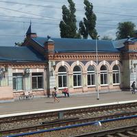 ЖД вокзал станции Давыдовка