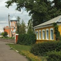 Улица Ленина у Библиотеки
