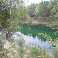 Солёное озеро (Солянка).