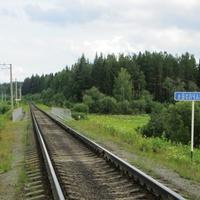 Железнодорожный мост через Волчанку