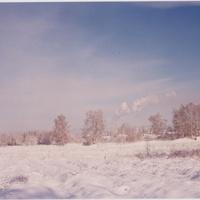 За околицей улиц Валовая и Моховая г. Шатуры. 90-е годы