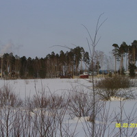 За околицей улиц Валовая и Моховая г. Шатуры.