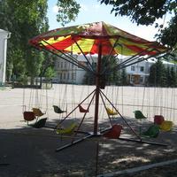 Центральная площадь в летнюю жару