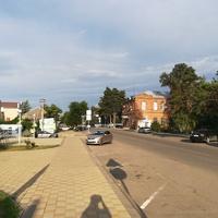 Улица Красная в районе торгового центра