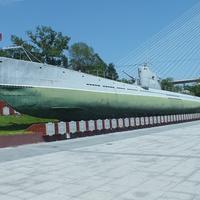 Филиал музея Тихоокеанского флота подводная лодка С - 56
