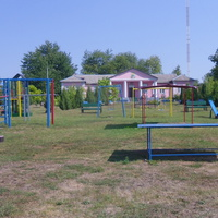 Спорт городок села Цветное