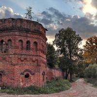 Башня сергеевского Воскресенского Свято - Фёдоровского монастыря