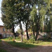 Старый двор дома на площади Ленина (бывшей Спасской)