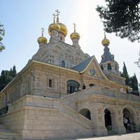 Русский Православный Гефсиманский женский монастырь. Святой равноапостольной Марии Магдалины храм.