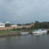 Пристань у Новгородского кремля