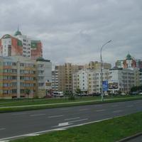 В Бресте на ул. Московской. Высотки  №№ 293А и 311
