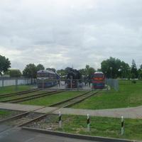 Брестский музей ж/д техники на проспекте Машерова