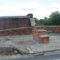Руины казармы 333 стрелкового полка в Брестской крепости