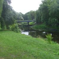 Мост через реку Мухавец в Брестской крепости