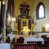 костел Св.Юрия (интерьер)
