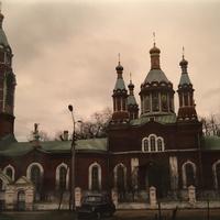 Храм Святого Георгия в селе Игнатьево. 1994г.