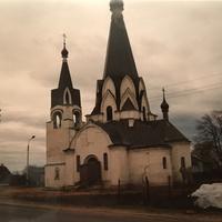 Старобрядческий храм Святого Георгия в селе Новохаритоново. 1994г.