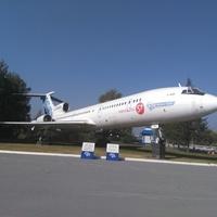 Музей авиации в Толмачёво. Ту-154