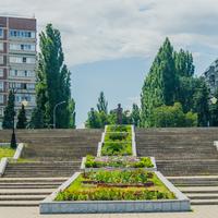 Набережная города Курчатова
